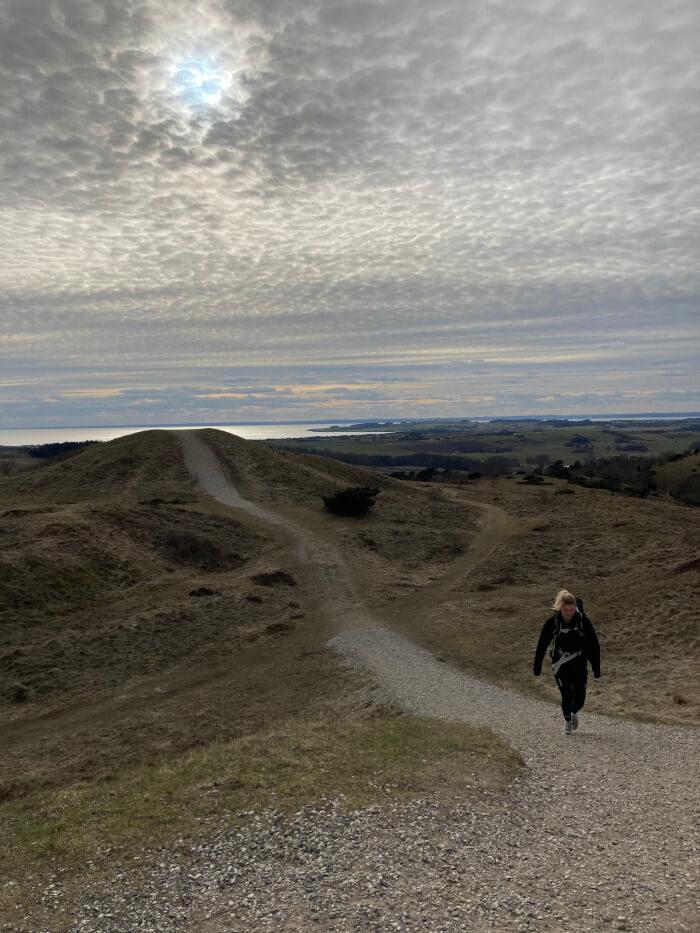 Bjergetapen i Mols Bjerge - Trehøje