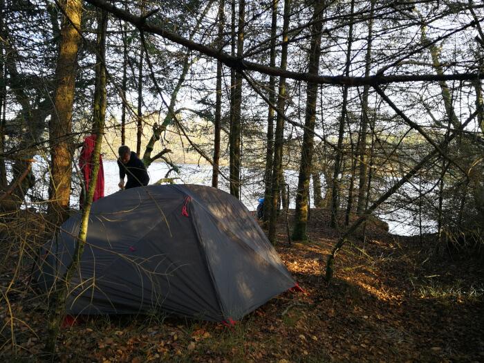 Lejrplads ved Store Økssø